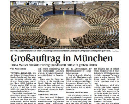 Polsterreinigung München